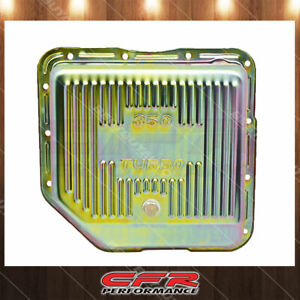 Fits Chevy Gm Turbo Th 350 Steel Transmission Pan Deep Sump Zinc