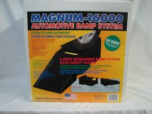 Portable Automotive Ramp System Car Truck Vehicle Lift Magnum 16000 Lbs