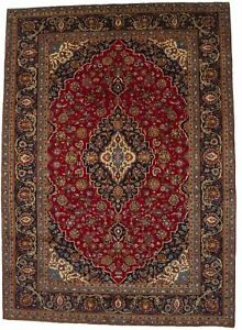 Extra Large Classic Hand Knotted Vintage Persian Rug Oriental Area Carpet 10x13