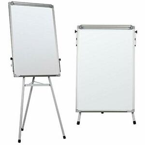 Portable Dry Erase Easel Magnetic White Board Tripod Whiteboard Flipchart Height