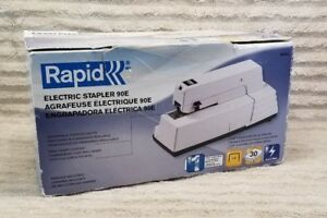 Rapid 90e Commercial Electric Stapler 30 Sheet Capacity Used