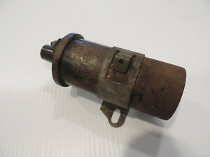 Vintage Delco Remy 081 Ignition Coil 12 Volt Packard Buick Cadillac