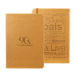 Leeam 90 Day Goal Planner Daily Weekly Monthly Undated Calendar Goal Planning