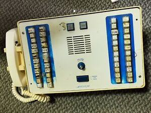 Vintage Executone Cc740ahd Nurse Call System Station As Is For Parts