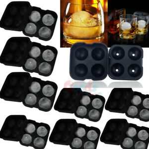 ICE Balls Maker Round Sphere Tray Silicone Mold Cube Ball Cocktails For Whiskey