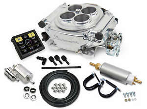 Holley Sniper 550 510k Tbi Efi Fuel Injection Master Conversion Kit Polished