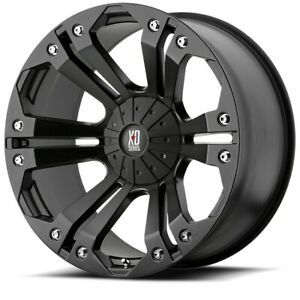 20 Inch Black Wheels Rims Toyota Tundra Truck Sequoia 5 Lug 5x150 Xd Monster New