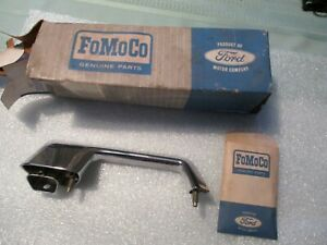 1966 Ford Fairlane Left Outside Door Handle Nos C6oz 6222405 a