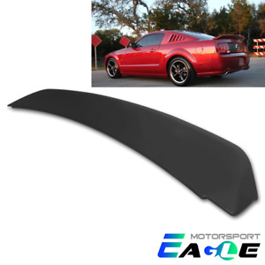 2005 2009 For Ford Mustang Gt500 Ducktail Style Matte Black Rear Trunk Spoiler