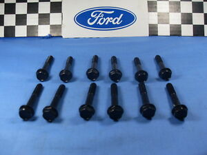 Ford Intake Bolt Set 1965 1973 Mustang Ford Torino Gt 289 302 351 Engines Wt