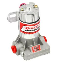 Quick Fuel Technology 30 105qft Universal Electric Fuel Pump 105 Gph 7 Psi Red