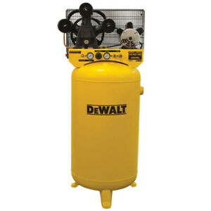 Dewalt 4 7 Hp 80 Gallon Oil lube Vertical Air Compressor Dxcmla4708065 New