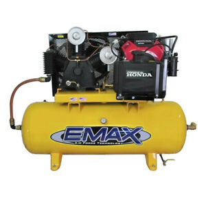 Emax Eges2480st 24 Hp 57 Cfm 80 Gal Stationary Air Compressor New
