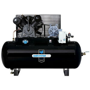 Industrial Air 230v 10 Hp 120 Gal Aosmith Air Compressor Ih9919910 New