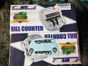 Hfs Bill Money Counter Multi Currency Cash Counting Machine Uv Mg Counterfeit