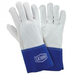 West Chester Ironcat Premium Top Grain Kidskin Tig Welding Gloves Large