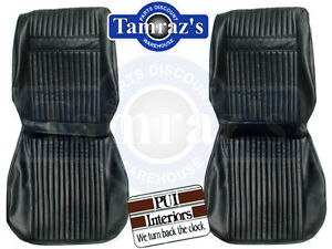 1964 Cutlass Holiday Front Seat Covers Upholstery Pui New