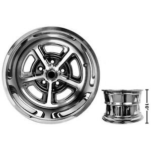 Ford Mustang Magnum Aluminum Alloy Wheel Coated W Cap 15 X 10 Each