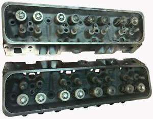 Chevy Gm Gmc 350 5 7 Vortec Cast 906 062 Cylinder Heads Pair L31 1996 2002