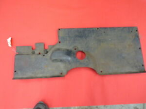 Original 1933 1934 Ford Pickup Truck Floor Toe Board Assembly A 7 1