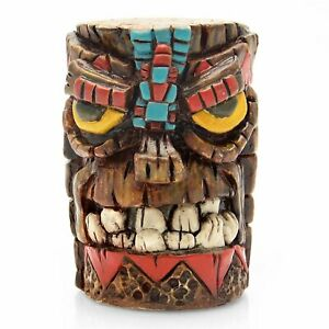 American Shifter Company Ascsn00019 Aldo Aztec Tiki Custom Shift Knob Hot Rod
