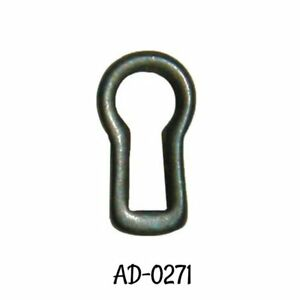 Keyhole Insert With Antiqued Brass Finish Antique Furniture Key Hole Escutcheon