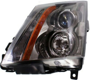 Left Driver Headlight Head Lamp For 2008 2015 Cadillac Cts