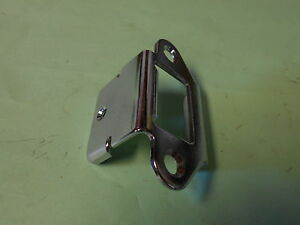 1967 1970 Ford Mustang Shelby Fastback Fold Down Rear Seat Chrome Latch Plate