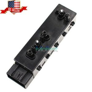 Oem Front Left Power Seat Switch For Buick Chevrolet Cadillac Srx Gmc 25974714