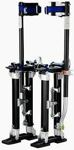 Drywall Stilts Lifts Painting Professional 24 40 Sheetrock Cleaning Pair Black