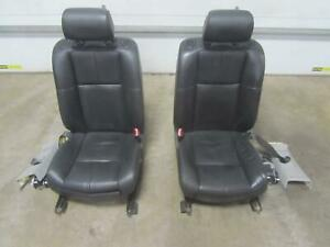 05 11 Cadillac Sts Front Seat Seats Black Oem Factory A45 Leather