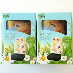 Disney Fairies Tinker Bell Auto Universal Fit Seat Covers Set Of 2 New