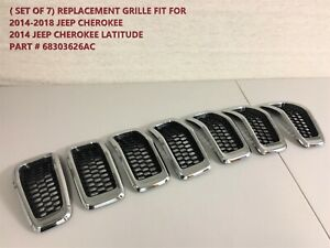 2014 20015 2016 2017 2018 For Jeep Cherokee Grille