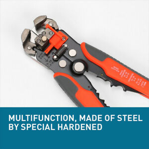 Multifunction Ratchet Crimping Press Plier Wire Stripper Cutter Tool 10 22 Awg