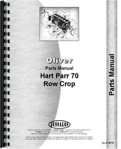 Oliver Hart Parr 70 Tractor Parts Manual 35 37