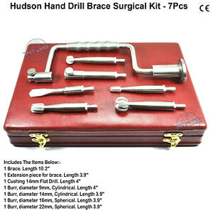 Orthopedic Hudson Brace Hand Drill Professional Medical Instruments Surgical