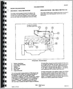 Service Manual Allis Chalmers 7080 7060 7040 Tractor
