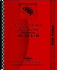 International Farmall 100 130 140 Series Tractor Parts Manual Catalog Tc 52b