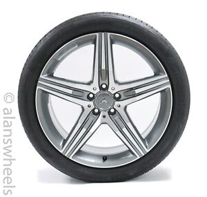 Mercedes Benz S63 Amg 20 Mach Face Painted Packets Wheels Rims Tire 85357 85356