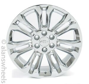 4 New Chevy Silverado Avalanche Factory Oem Chrome 22 Wheels Rims Ses Ck159