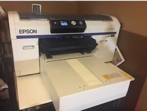 Epson F2000 Surecolor Printer White Edition Dtg Printer And Speedtreater Tx