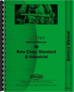 Service Manual Oliver 80 Hart Parr 18 28 35 Tractor