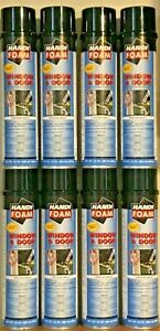 Handi foam Gun Foam Sealant Window Door Foam 8 Cans Great Stuff