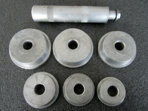 Blue point Aluminum Bearing Race And Seal Driver Set A1307