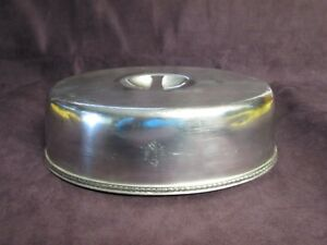 The Beekman Oval Platter Dome Gorham Silverplate 1926 Park Avenue New York City