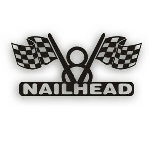 V8 Nailhead Engine Decal For Your Buick Hot Rod Race Classic Or Muscle Car Black