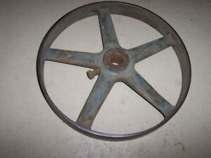 11 1 2 Iron Large Economy Hercules Antique Hit And Miss Gas Engine Pulley
