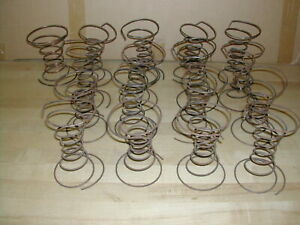 17 Vintage Antique Metal Coil Upholstery Springs Chair Couch Furniture Salvage
