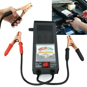 6v 12v Volt Car Battery Load Tester 100 Amp Car Testing Display Mechanics Truck