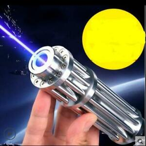 Hot High Power 5000000m Blue Laser Pointers 450nm Lazer Flashlight Burning